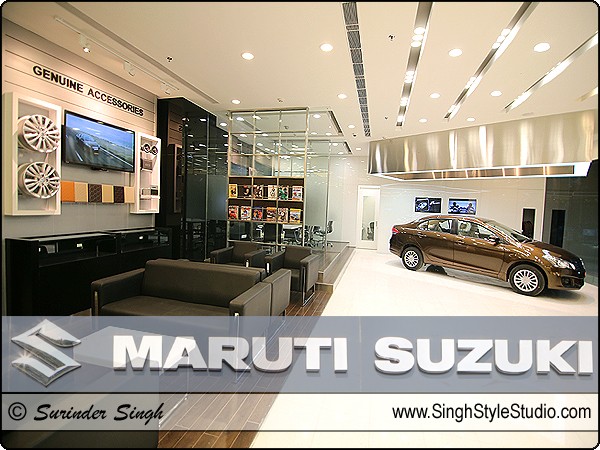 car showroom interior architectural photography in delhi noida gurgaon gurugram india